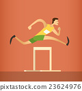 Hurdle Race Running Athlete Sport Competition 23624976