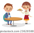 餐廳 飯店 女服務員 23626588