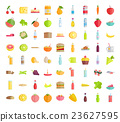 Big Collection of Food Concepts in Flat Design. 23627595