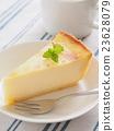 奶酪蛋糕 烤乳酪蛋糕 蛋糕 23628079