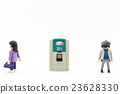 atm, automated teller machine, women 23628330