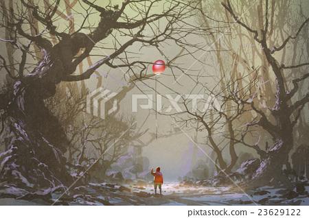 alone in the dark forest 23629122