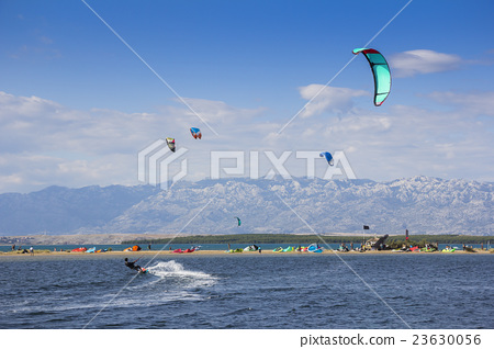 Kiteboarding Kitesurfing Extreme Sport 23630056