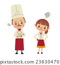 waitress, chef, chefs 23630470