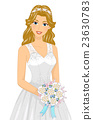 Girl Beach Wedding Bride 23630783