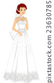 Girl Lacy Bridal Gown 23630785