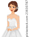 Girl Bridal Gown Head Accessories 23630787