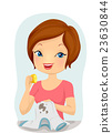 女性 女 洗衣店 23630844