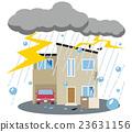 thunder, thunderbolt, residential 23631156