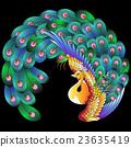 鳥兒 鳥 孔雀 23635419