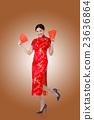 woman in traditional cheongsam 23636864