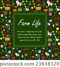 farm, banner, illustration 23638320