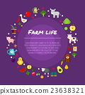 farm fruit vegetables 23638321