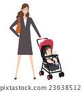 為人父母的職業婦女clipart 23638512