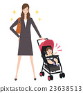 為人父母的職業婦女clipart 23638513