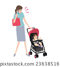 為人父母的職業婦女clipart 23638516