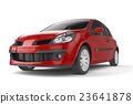 small, car, vehicle 23641878