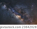 Beautiful milky way galaxy on a night sky 23642028