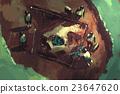 archeology dig,giant skull 23647620