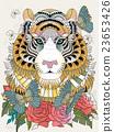 野生 虎 动物 23653426