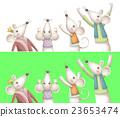 동물, 동화, 쥐 23653474