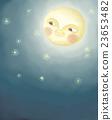 달, 미소, 동화 23653482