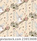 鸟儿 婚礼 矢量图 23653606
