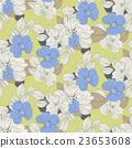 开花 布料 织物 23653608