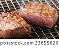 牛排 燒烤 烘烤的 23655620