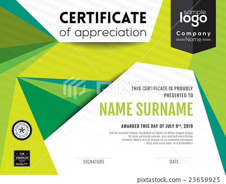 Modern certificate background design template stock illustration modern certificate background design template yadclub Gallery