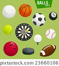 กีฬา,ลูกบอล,ไอคอน 23660106