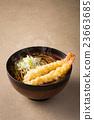 麵條 溫暖 天婦羅蕎麥麵 23663685