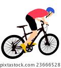 vector, male, bike 23666528