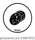 Ham icon 23667932