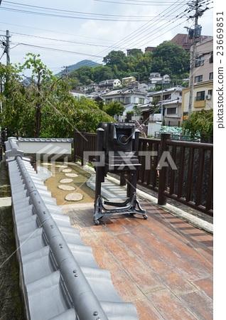 Ueno shooting station ruins (Ise-cho, Nagasaki-shi, Nagasaki prefecture) 23669851