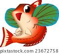 矢量 魚 插圖 23672758