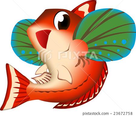 벡터, 물고기, 생선 23672758