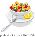 fresh fruit salad 23678856