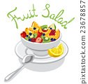 fresh fruits salad 23678857