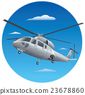 flying helicopter 23678860