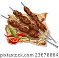 tasty kebabs 23678864