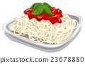 pasta with tomato sauce 23678880
