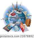 travel around the world 23678892
