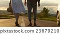 無臉面 夫婦 一對 23679210