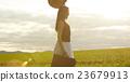 肖像 暮色 草帽 23679913
