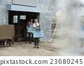 農家庭工作風景 23680245