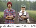 农场家庭和儿童肖像 23680328