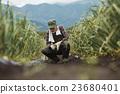 gents, field, farming 23680401