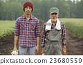 person, farmhouse, farmer 23680559