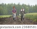 gents, farmwork, farmhouse 23680581